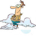 Leijailetko pilvissä?